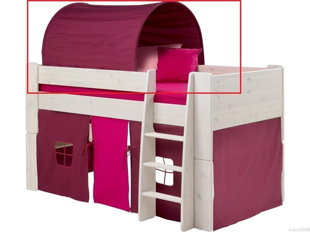 betttunnel f r hochbett purpur nische 74cm steens for kids baldachin k23 b1. Black Bedroom Furniture Sets. Home Design Ideas
