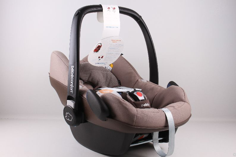 bebe confort maxi cosi pebble babyschale gruppe 0 earth brown l3 oz9847 ebay. Black Bedroom Furniture Sets. Home Design Ideas