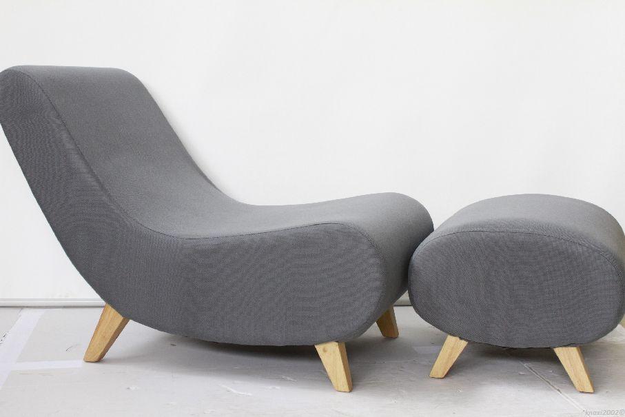 design sessel mit hocker images. Black Bedroom Furniture Sets. Home Design Ideas