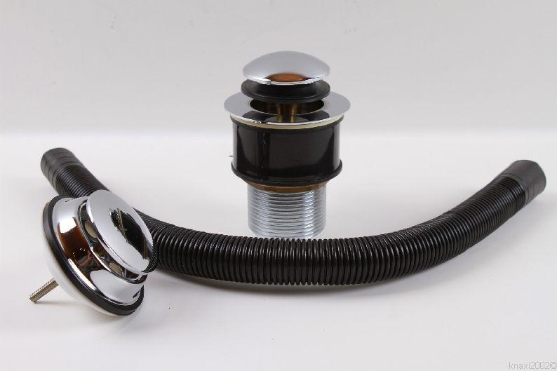 plumb pak pop up ventil ablaufgarnitur f r waschbecken berlauf ag2122 ebay. Black Bedroom Furniture Sets. Home Design Ideas